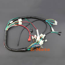 wiring looms for quad promotion shop for promotional wiring looms engine wire loom wiring harness wireloom 110cc 125cc pit atv quad bike buggy go kart