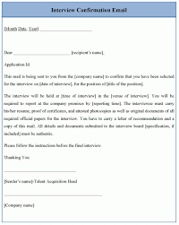 job interview template confirming job interview hatch urbanskript co inside regarding