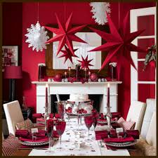 Living Room Decorations For Christmas Fabulous Red And White Table Roundup Decoration Ideas For