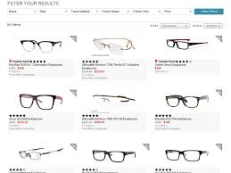 searching for eyegles at framesdirect
