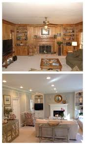 Wood Walls In Living Room Best 25 Wood Paneling Makeover Ideas On Pinterest Paneling