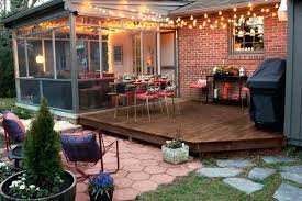patio designs with fire pit and hot tub. Backyard Patios Ideas Patio Outdoor String Lights Designs With Fire Pit And Hot Tub .