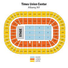 Times Union Seating Chart Albany Ny Coladot