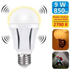 Ebay Dusk To Dawn Lights 9 89 Radar Motion Sensor Led Light Bulb 9w Dusk To Dawn