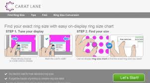 Visit Caratlane Findmyringsize Com Ring Sizes Online