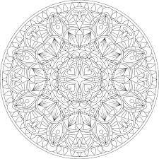 Mandala Coloring Page Free Printable Mandala Coloring Pages Packed