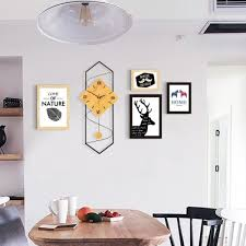 Nordic Minimalist Creative Living Room Wall Clock ... - STORELUXY
