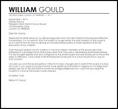 Formal Letter Of Resignation Adorable Letter Of Resignation From Board Gallery Letter Format Formal Sample