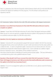 first aid cpr aed and bls faq page 1