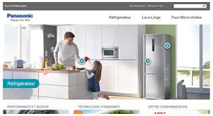Small Picture Panasonic Home Appliance Web Design Portfolio Sebcreation