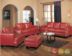 charming design red leather living room furniture red leather sofa living room ideas home design ideas