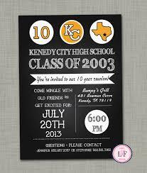 Class Reunion Invitations Templates High School Reunion Invite High School Reunion Invitation 24 Year 6