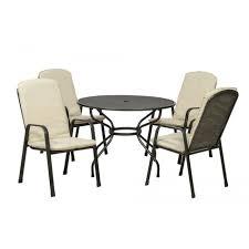 4 seater round patio set