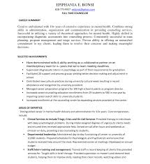 School Counselor Resume Sample English Teacher Resume Sle Doc Mft Intern Rsum Cehs Index By 46