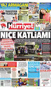 Günün gazete manşetleri - 15 Temmuz 2016 | N