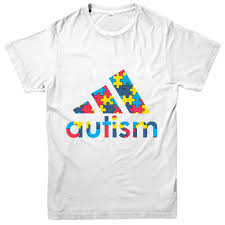 Autism Shirt Designs Autism Awareness T Shirt Autism Colorfull Puzzle Piece Design Gift Tee Topfunny Unisex Casual Tee Gift Coolest T Shirts T Shirt Cool From
