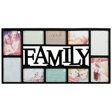 Wonderful Interior Family Multi Aperture Photo Frame Frames
