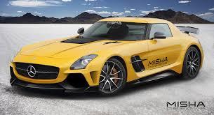 Misha Designs Previews Mercedes-Benz SLS AMG Bodykit - GTspirit