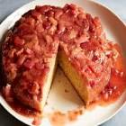 angie s easy rhubarb strawberry cake