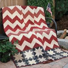 17 best ideas about Mccall's Quilting on Pinterest | Quilt ... & STARS & CHEVRONS Patriotic lap quilt pattern Designed by LAURA DEMARCO VAN  SLYKE Machine Quilted by Adamdwight.com