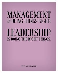 Quotes On Leadership Management. QuotesGram via Relatably.com