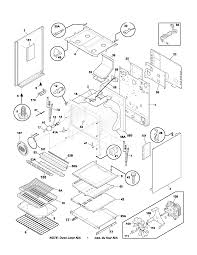 plgf389ccb gas range parts diagram