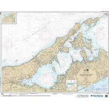 Maptech Noaa Recreational Waterproof Chart New York