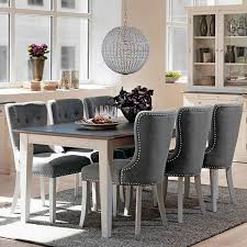 dining chairs gray grey room kitchen and red