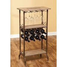 wine gifts wooden bar rack and gl evergreen wine rack bar table80 wine