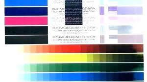 Color Test Page For Printer Samsung Color Laser Printer Test Page