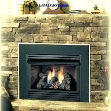 ventless propane fireplace insert gas fireplace insert lo rider vent free propane gas fireplace inserts