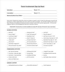 Make A Sign Up Sheet Sign Up Sheets 58 Free Word Excel Pdf Documents Download Free