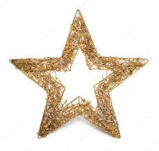 Gold Weihnachtsstern Stockfoto Gekaskr 37787709