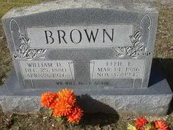 Effie Emoline Watts Brown (1886-1947) - Find A Grave Memorial