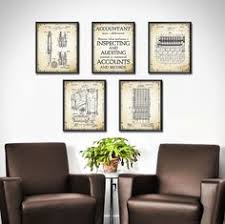 prints for office walls. Accountant Gift - Patent Prints Set Of 5 Accounting Book Keeping Office Decor Wall Art Mathematical Calculation 1359 For Walls