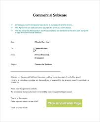 Sample Sublease Agreement 10 Commercial Sublease Agreements Word Pdf Pages