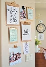 diy office art.  Diy Love The Quote On Big Clip Board  Hallway Inspo Think Outside Box  And Create A Gallery Wall That Is Chic Weu0027re Inspired By This Unique Clipboard  Intended Diy Office Art S