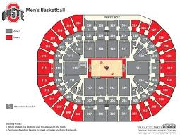 Value City Arena Seating Chart With Seat Numbers Schottenstein Center Seating Chart