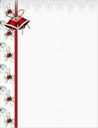 Free Christmas Border Stationery Fun For Christmas