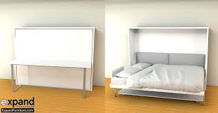 diy wall bed with desk. Diy Murphy Desk Hover Horizontal Queen Bed Expand Furniture Wall With D