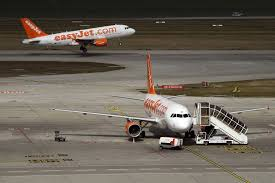 easyjet aircraft in geneva the pany 39 s shares slipped nearly 10 percent after it announced studland dorset new makeup