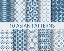 Asian Patterns Fascinating 48 Different Chinese Asian Traditional Seamless Patterns Swatches