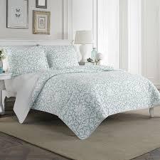 laura ashley duvet covers brilliant home mia 100 cotton reversible quilt set by throughout 4
