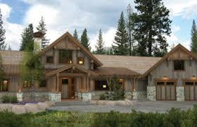 Bragg Creek Timber Frame Home Floor Plan by Canadian Timberframes, Ltd.
