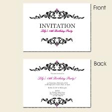 free 18th birthday invitation templates printable surprise