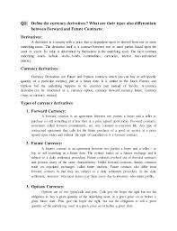 international finance second assignment