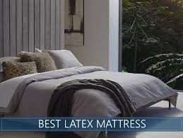 top rated latex beds