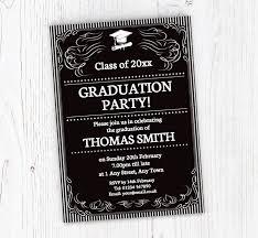 Ornate Graduation Invitations