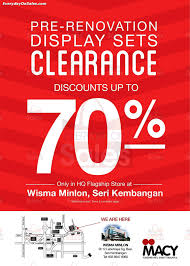 Macy Bedroom Furniture Closeout 21 Apr 11 May 2014 Macy Furniture Malaysia Pre Renovation Display