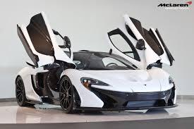 mclaren p1 black and white. for sale alaskan diamond white mclaren p1 with 920 miles mclaren black and